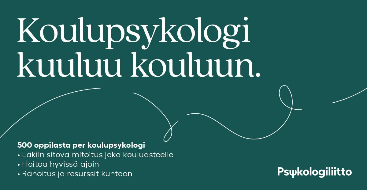 Koulupsykologi Palkka